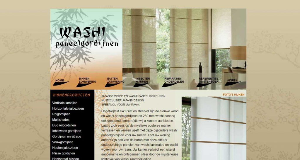 washi-paneelgordijnen