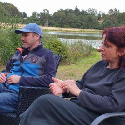 visit Astrid Moors en Peter Toen en Anemoon in Denmark