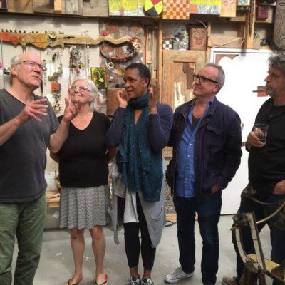 met Sjouke Schaafsma, Lothar Nierenz and Kathy