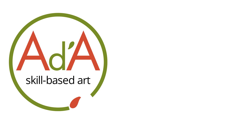 Logo voor AdA skill-based art