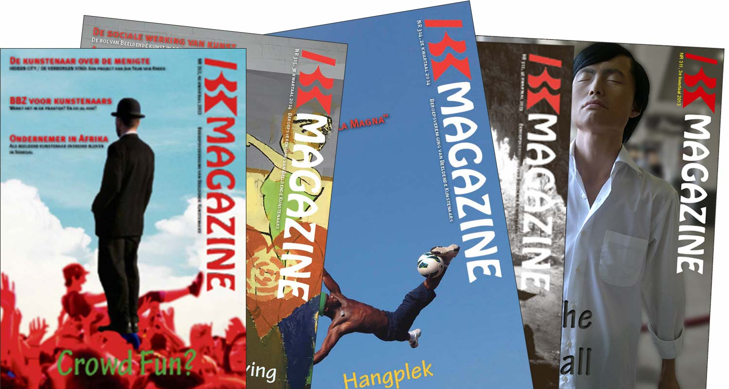 Cover design voor BBK magazine