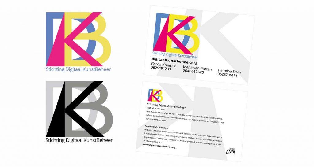 Logo  Digitaal KunstBeheer